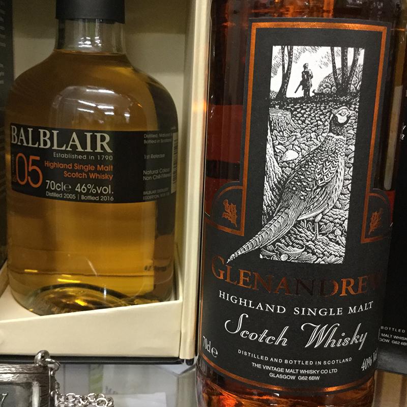 Balblair & Glenandrwe Whisky
