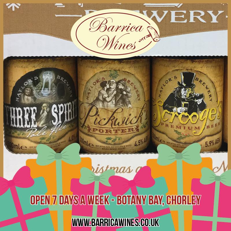Naylors Christmas Beers gift pack